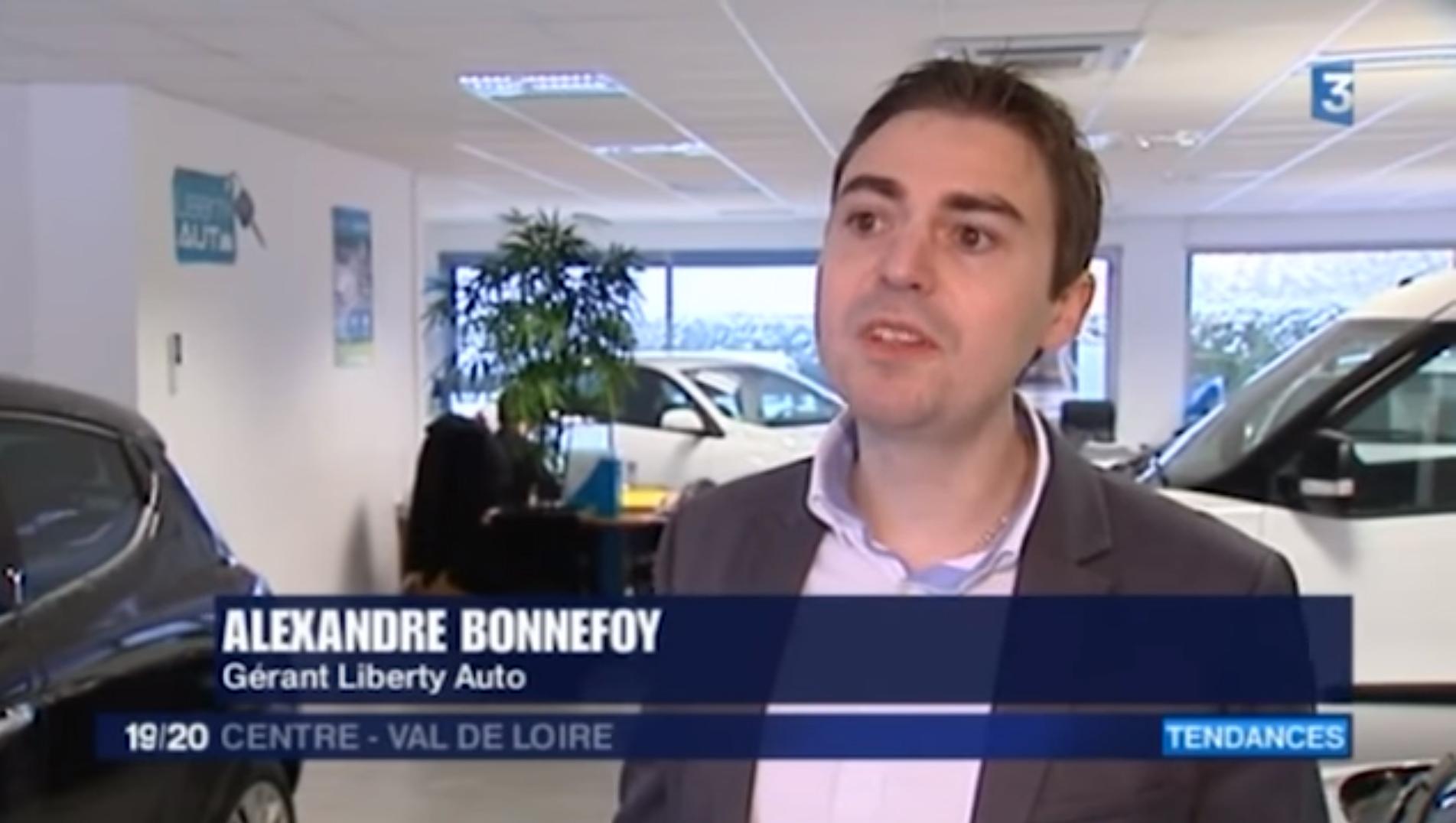Vidéo France 3 Liberty Auto Orléans